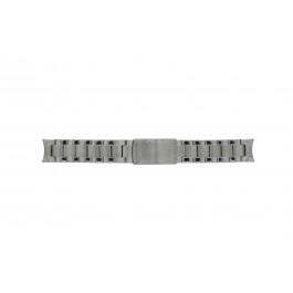 Fossil cinturino orologio ES2681 Acciaio Argento 18mm