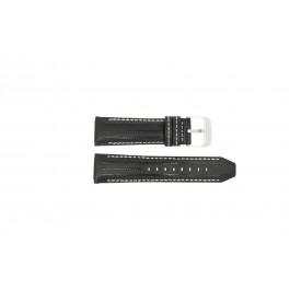 Cinturino per orologio Festina F16489-1 / F16488 Pelle Nero 25mm