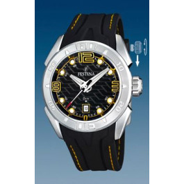 Cinturino per orologio Festina F16505/5 Gomma Nero 26mm