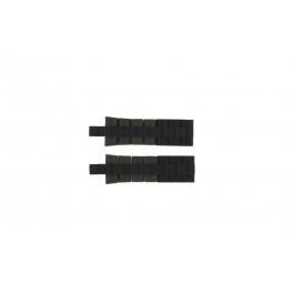 Cinturino per orologio Festina F16659/4 Acciaio/Silicone Marrone 8mm