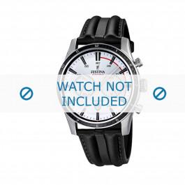 Cinturino per orologio Festina F16874-1 Pelle Nero 24mm