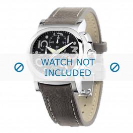 Festina cinturino dell'orologio F16125.6 Pelle Grigio 23mm