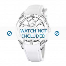 Cinturino per orologio Festina F16394.1 / F16492.40 / F16492 Gomma Bianco 20mm