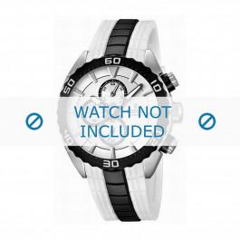 Cinturino per orologio Festina F16664/1 Gomma Bianco 23mm
