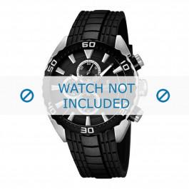 Cinturino per orologio Festina F16664/4 Gomma Nero 23mm