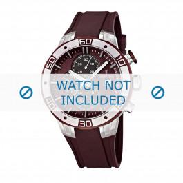 Festina cinturino dell'orologio F16667-3 Gomma / plastica Rosso 26mm