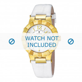 Cinturino per orologio Festina F16735/1 Pelle Bianco 10mm