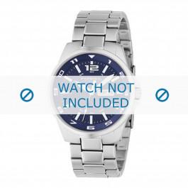 Fossil cinturino dell'orologio AM4145 Metallo Argento 22mm