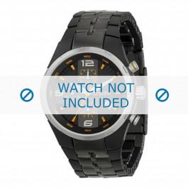 Fossil cinturino dell'orologio CH2490 Gomma / plastica Nero