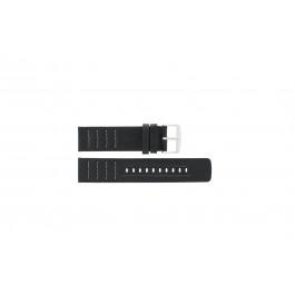 Cinturino per orologio Fossil CH2493 / CH2494 Pelle Nero 22mm