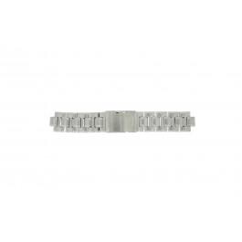 Fossil cinturino orologio CH-2566 Acciaio Argento 11mm