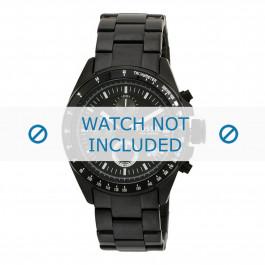 Cinturino per orologio Fossil CH2601 Acciaio Nero 22mm
