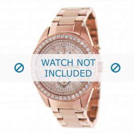 Fossil cinturino dell'orologio ES3352 Metallo Salito 18mm
