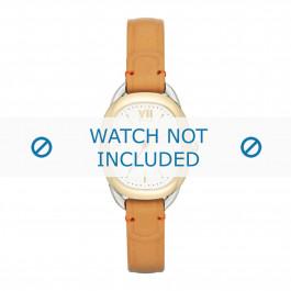 Fossil cinturino dell'orologio ES3558 Pelle Cognac + cuciture di default