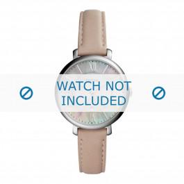 Cinturino per orologio Fossil ES4151 Pelle Rosa 14mm