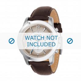 Cinturino per orologio Fossil FS4533 Pelle Marrone 22mm