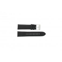 Cinturino per orologio Fossil FS4745 Pelle Nero 22mm