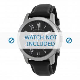 Cinturino per orologio Fossil FS4812IE Pelle Nero 22mm