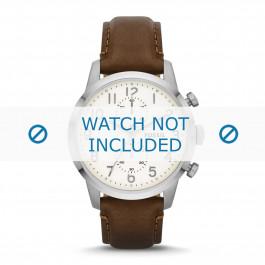 Cinturino per orologio Fossil FS4872 Pelle Marrone 22mm