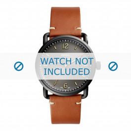 Cinturino per orologio Fossil FS5276 Pelle Cognac 22mm