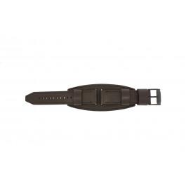 Cinturino per orologio Fossil JR1365 Pelle Marrone 25mm