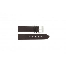 Cinturino per orologio Fossil ME1020 Pelle Marrone 24mm