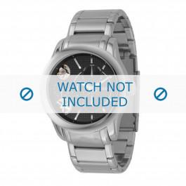 Fossil cinturino dell'orologio ME1078 Metallo Argento