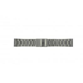 Cinturino per orologio Fossil FS4662 / 12XXXX / 25XXXX Acciaio Grigio antracite 24mm