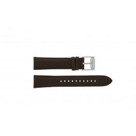 Cinturino per orologio Fossil FS4839 Pelle Marrone 20mm