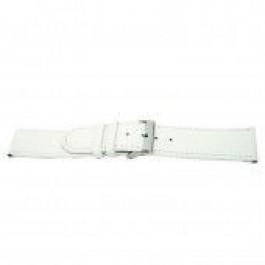 Cinturino per orologio Universale I505 Pelle Bianco 24mm