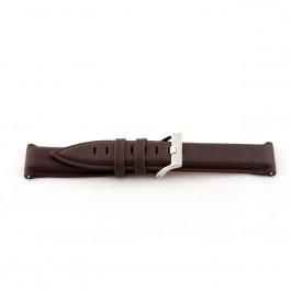 Cinturino per orologio Universale H366 Pelle Marrone 22mm