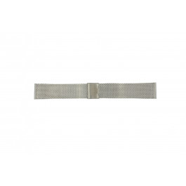 Davis cinturino orologio BB0810 Acciaio Argento 24mm