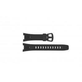 Cinturino per orologio Casio SGW-200-1V / 10314276 Plastica Nero 12mm