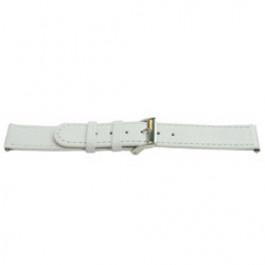 Cinturino per orologio Universale E500 Pelle Bianco 16mm
