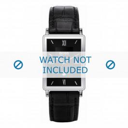 Cinturino per orologio Hugo Boss HB-38-1-14-2060 Pelle Nero 20mm