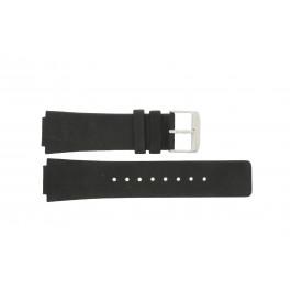 Cinturino per orologio Danish Design IQ13Q884 Pelle Nero 16mm