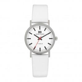 Cinturino per orologio Danish Design IV18Q199 Pelle Bianco 16mm