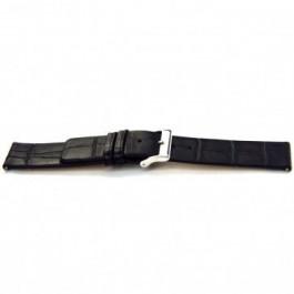 Cinturino per orologio Universale F145 Pelle Nero 18mm