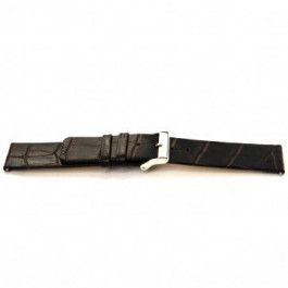 Cinturino per orologio Universale H350 Pelle Marrone 22mm