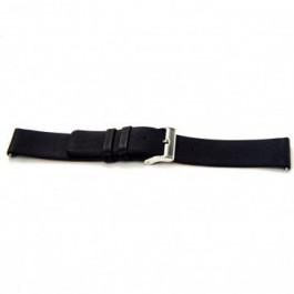 Cinturino per orologio Universale I105 Pelle Nero 24mm