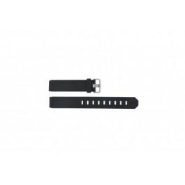 Cinturino per orologio Jacob Jensen 732 / 742 / 743 / 640 / 641 / 660 / 662 / 680 / 681 Gomma Nero 17mm