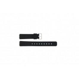 Cinturino per orologio Jacob Jensen 130 / 131 / 132 / 133 Gomma Nero 15mm