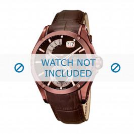 Cinturino per orologio Jaguar J680-A Pelle Marrone 22mm