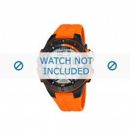 Cinturino per orologio Calypso K5607-1 Gomma Arancione 20mm