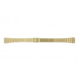 Cinturino per orologio Casio 9EF-LA670WEGA / 10335075 Acciaio Placcato oro 13mm
