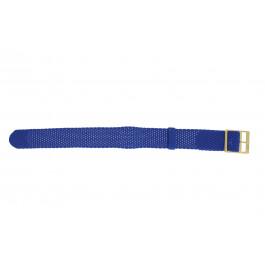 Cinturino per orologio Universale PRLN.18.LB Nylon/perlon Blu 18mm