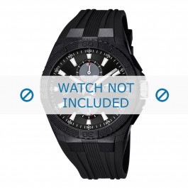 Cinturino per orologio Lotus 15970/7 Gomma Nero