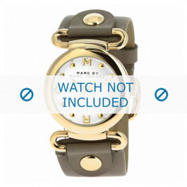 Marc by Marc Jacobs cinturino dell'orologio MBM1303 Pelle Taupe