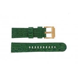 Cinturino per orologio Marc Coblen MCSLR2087 Pelle Verde 22mm