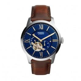 Cinturino per orologio Fossil ME3110 Pelle Marrone 22mm